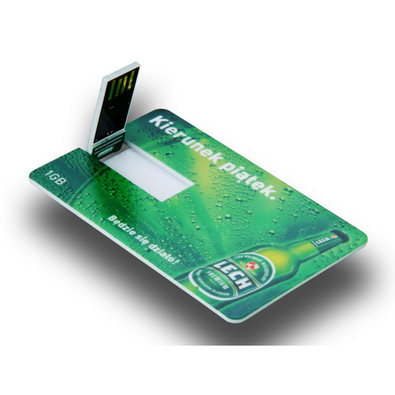 Card shape web key promotional usb with custom logo easysources reheart Choice Image